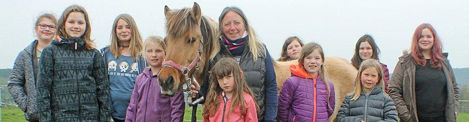 Ponyferien 2017 im Westerwald