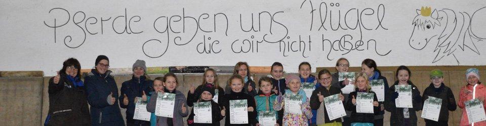 Reitabzeichenlehrgang Hof-Silberberg Daaden