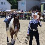 Mit Pferden gemeinsam was zu erreichen, macht einfach Spaß.